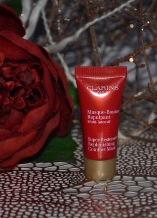 Восстанавливающая питательная маска-бальзам интенсивного действия clarins masque baume