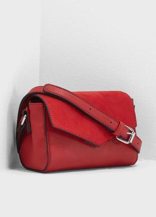 Новая красная сумочка ❤️new look