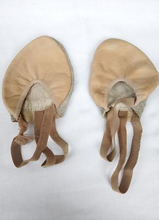 Чешки бежевые без задника кожа кожаные нюд 36, 37, 38 размер