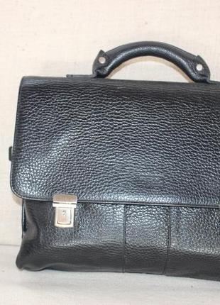 Кожаный портфель маral leather
