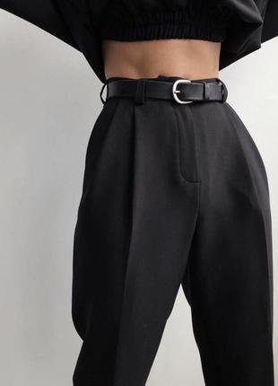 Идеальные брюки  , штаны с защипами