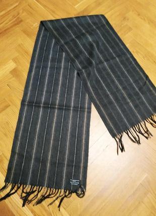 Кашемировый мужской шарф германия
