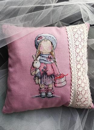 ✨ декоративная подушка для интерьера. ручная работа ✨