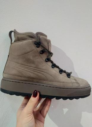 Зимние кроссовки кеды ботинки puma the ren boot- оригинал, натуральная кожа,нубук
