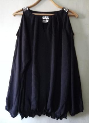 Очень нарядная  блузка большого размера