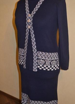 Костюм (юбка+ кофточка). размеры 52-58