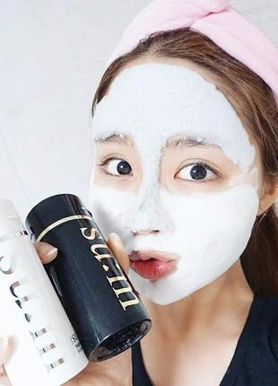 Кислородная маска бабл очищающая люкс sum37 white award bubble de mask