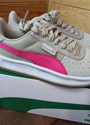 Кожаные кроссовки puma california women´s sneakers