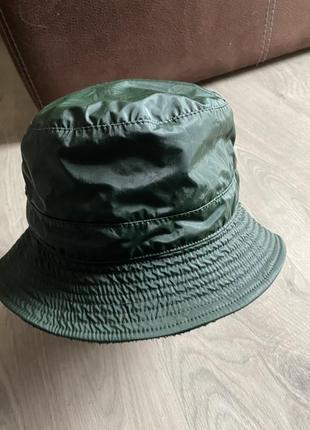 Клевая шляпа панама хаки не промокает с утеплителем