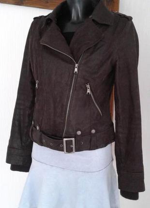 Куртка косуха кожа на меху