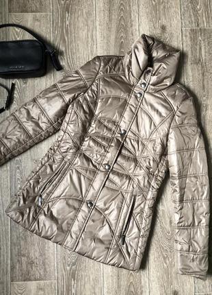 Демисезонная куртка немецкого премиум бренда fuchs&schmitt размер м1 фото