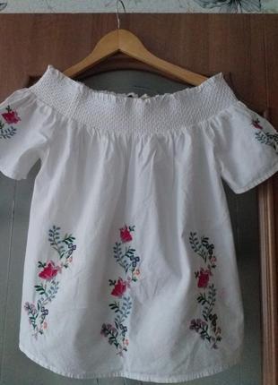 Dorothy perkins  s-m   коттоновая блузка