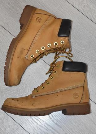 Демисезонные ботинки timberland оригинал размер 37 стелька 23 см оригинальные