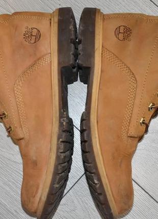 Демисезонные ботинки timberland оригинал размер 38 стелька 24 см оригинальные
