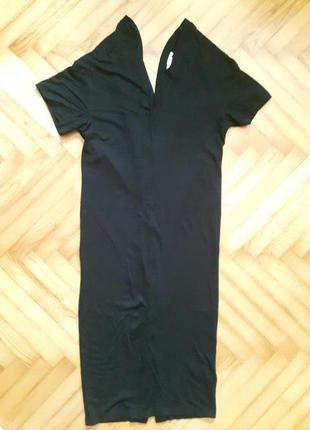 Трикотажное миди платье от h&m! p.-34
