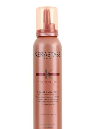 Мусс для волос kerastase discipline mousse curl ideal