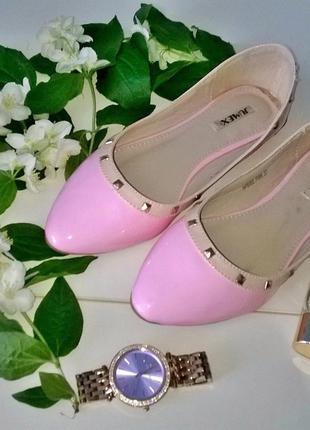 Нежнейшие розовые балетки