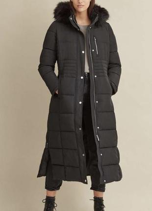 Куртка,пальто зимнее женское dkny донна каран нью йорк. оригинал