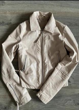 Куртка еко кожа красивый цвет