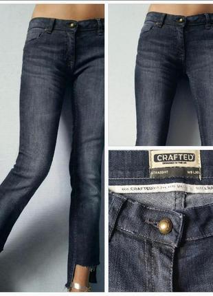 Сезонные скидки!!! трендовые джинсы straight