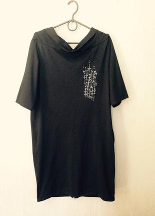 Красивое платье с молнией на спине
