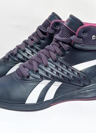 Осінні високі кросівки высокие осенние кроссовки reebok оригинал