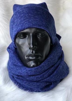 Двойной снуд хомут шарф