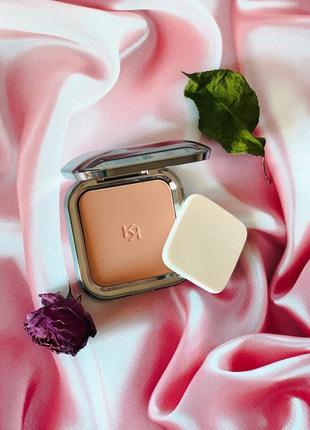 Компактная пудра для лица skin tone powder foundation kiko кико kiko milano