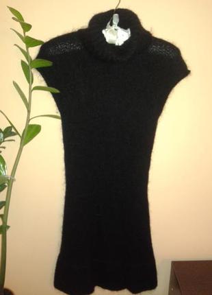 Отличное теплое мини платье от zara, p.s-m