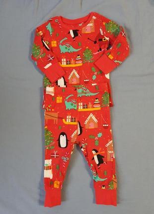 Пижама новогодняя next
