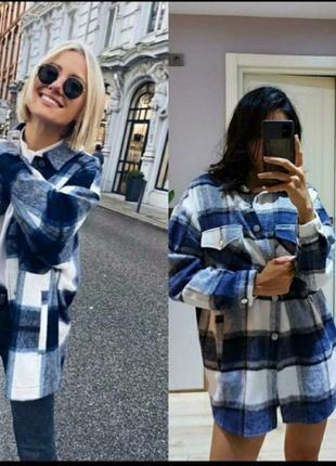Стильная женская рубашка зима 2021