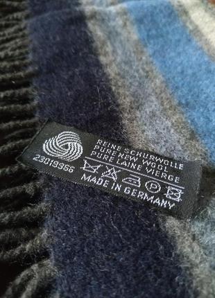 Schurwolle чистая шерсть теплый мужской шарф. германия.