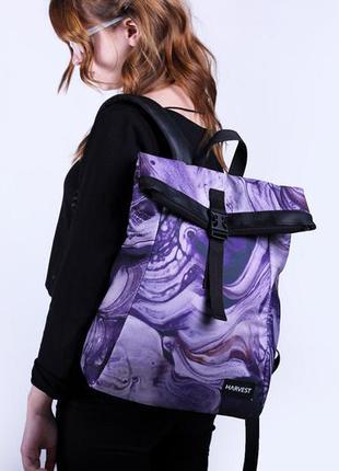 Женский рюкзак harvest- roll, violet
