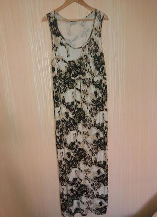 Платье в пол длинное платье
