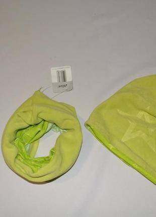 Набор шапка и снуд для ребенка alive германия размер 128-140