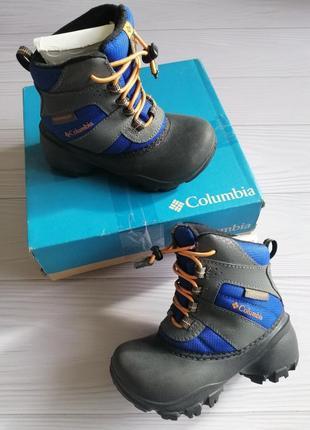 Зимние ботинки columbia, размер 27