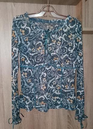 Блузка mexx женская прозрачная