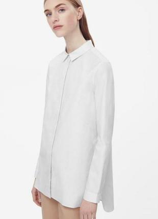 Удлиненная рубашка - блузка cos