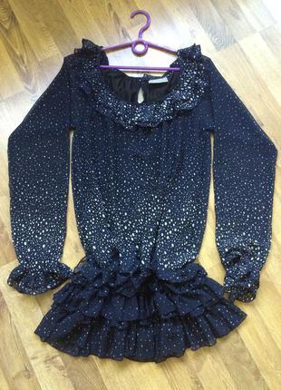 Блузка-платье.
