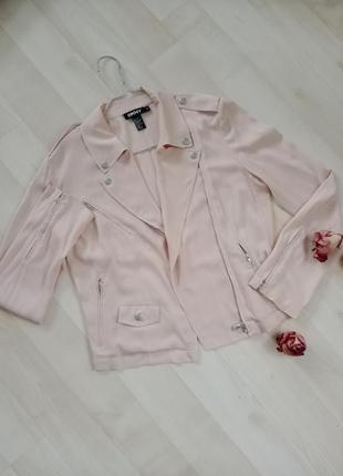 Шелковая куртка косуха