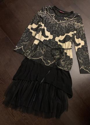 Оригинальное платье derhy франция