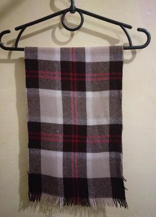 Handgewebt reine wolle шарф 100% шерсть