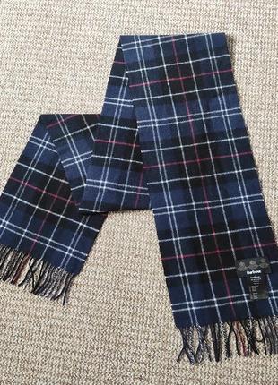Barbour шарф шерстяной оригинал