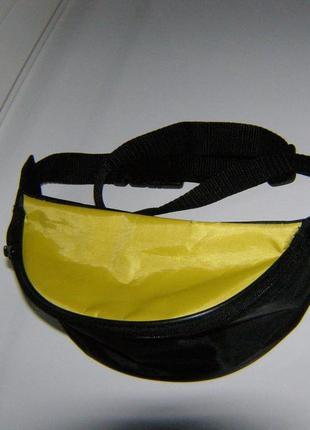 Велосипедная сумка на пояс бананка барсетка