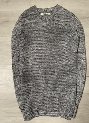 Чоловічий приталений светерок від jack&jones
