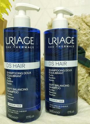 Uriage ds hair doux шампунь