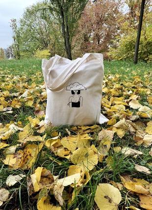 Эко- сумка ручной работы