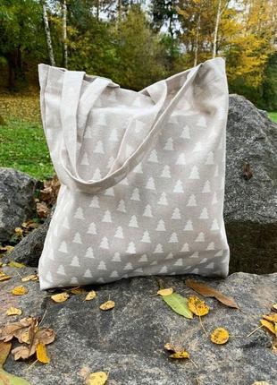 Эко- сумка ручной работы из испанкого хлопка