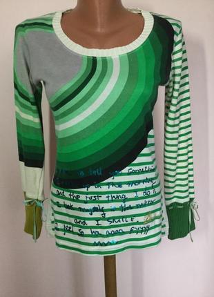 Легкий свитерок- блуза от бренда desigual/ m/