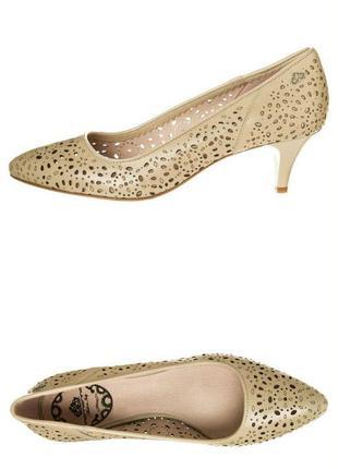 Fornarina бежевые классические туфли